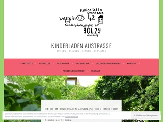 Vorschaubild der Webseite von Kindergarten