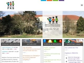 Vorschaubild der Webseite von Fritz-Karsen-Schule