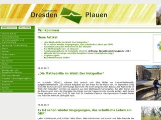 Vorschaubild der Webseite von Gymnasium Dresden-Plauen
