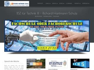 Vorschaubild der Webseite von Berufliches Schulzentrum für Technik III