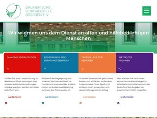 Vorschaubild der Webseite von Ökumenische Seniorenhilfe Dresden e.V.
