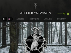 Perles de verre - Atelier Yngvison