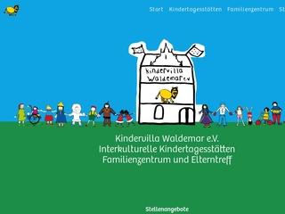 Vorschaubild der Webseite von Eltern-Initiativ-Kindertagesstätte - Kindervilla Waldemar