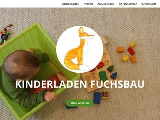 Vorschaubild der Webseite von Kinderladen Fuchsbau