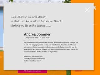 Vorschaubild der Webseite von Kindertagesstätte Kinderträume
