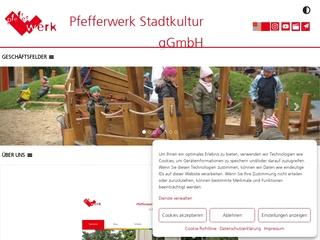 Vorschaubild der Webseite von Kindertagesstätte Pfefferwerk Müggelstraße19/20