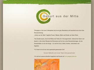 Vorschaubild der Webseite von Elternwerden mit Freude