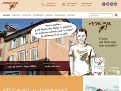 Homepage Meige Matériaux