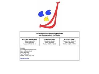 Vorschaubild der Webseite Kindergarten Nord-West