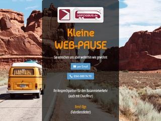 Vorschaubild der Webseite von Leipziger Personenbeförderungsgesellschaft mbH