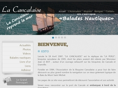 Sailing with the Cancalaise
