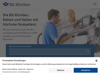 Vorschaubild der Webseite von BG Ambulantes Operationszentrum