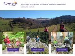 Marche nordique ou nordic walking en Auvergne