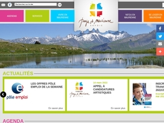 Montagnicimes bureau d'Albiez Savoie Mont Blanc Alpes