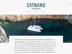CATNANO - small cruising catamarans