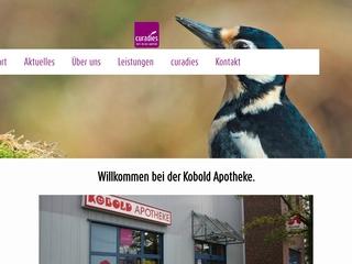 Vorschaubild der Webseite von Kobold Apotheke