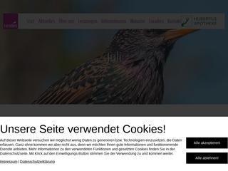 Vorschaubild der Webseite Hubertus-Apotheke