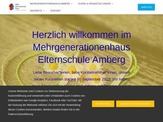 Vorschaubild der Webseite von MGH Elternschule Amberg e.V.