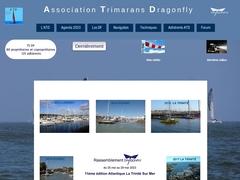 Association trimarans Dragonfly