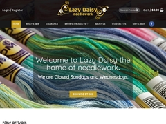 Lazy Daisy Needlework
