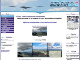 Vorschaubild der Webseite von Weser-Fluggemeinschaft e.V.