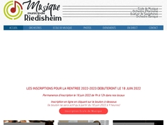 ECOLE de MUSIQUE : RIEDISHEIM  Union
