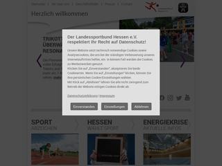 Vorschaubild der Webseite von Landessportbund Hessen e.V.