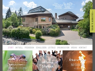 Vorschaubild der Webseite von Freie Waldorfschule Bremen