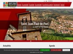 Saint-Jean-Pied-de-Port Site officiel