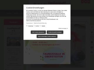 Vorschaubild der Webseite von Familientreff Oberursel