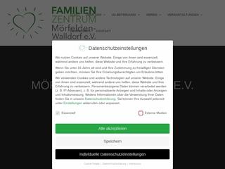 Vorschaubild der Webseite von Familienzentrum Mörfelden-Walldorf Die kleinen Strolche e. V.