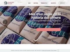 Cemento rápido Natural Marfil - Cementos Collet