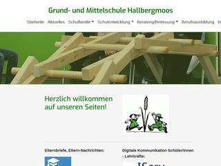 Vorschaubild der Webseite von Grundschule Hallbergmoos