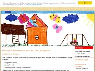 Vorschaubild der Webseite von Kindertagesstätte Am Carlsgarten