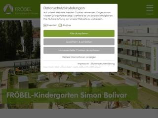 Vorschaubild der Webseite von Kindertagesstätte Simon Bolivar