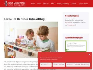 Vorschaubild der Webseite von Kindertagesstätte Trauminsel