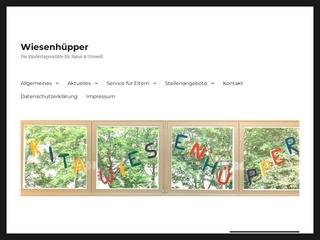 Vorschaubild der Webseite von Kindertagesstätte Wiesenhüpper