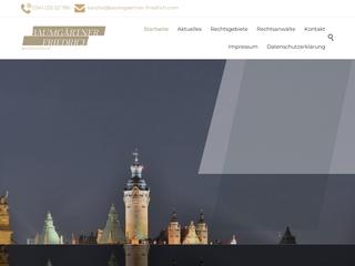 Vorschaubild der Webseite von Anwälte für Arbeitsrecht Leipzig BAUMGÄRTNER FRIEDRICH Rechtsanwälte