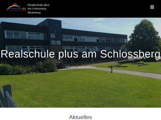 Vorschaubild der Webseite von Realschule Plus Westerburg