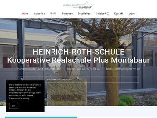 Vorschaubild der Webseite von Realschule Plus Montabaur Heinrich Roth