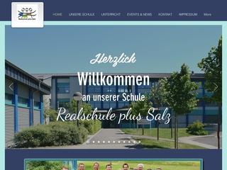 Vorschaubild der Webseite von Realschule Plus Salz