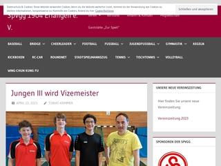 Vorschaubild der Webseite SPVGG Erlangen