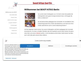 Vorschaubild der Webseite von BOOT-Kindertagesstätte Farbenland