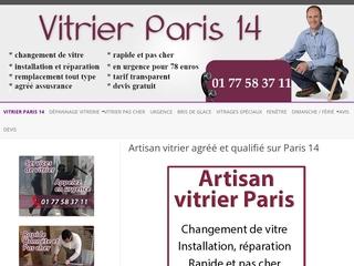 Vitrier Paris 14 - Pose de miroir