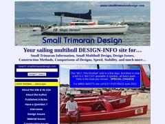 Small Trimaran Design   Home Page