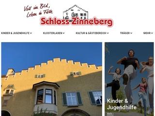 Vorschaubild der Webseite von Schloß Zinneberg - Jugendhilfeeinrichtung