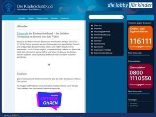 Vorschaubild der Webseite von Mütterzentrum im Deutschen Kinderschutzbund
