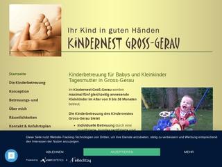 Vorschaubild der Webseite von Kindertagespflege Kindernest Groß-Gerau