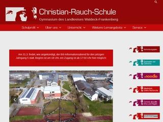 Vorschaubild der Webseite von Christian-Rauch-Schule Bad Arolsen