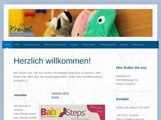 Vorschaubild der Webseite von Familienentrum Kreisel
